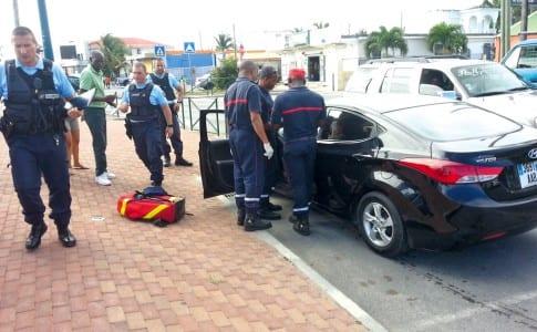 19-01-16-Gendarmes-et-pompiers-présents-lors-de-l'accident