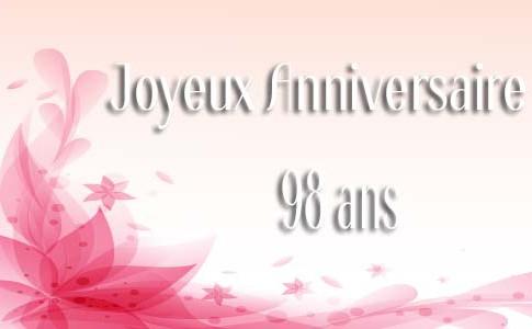 carte-anniversaire-femme-98-ans-pink