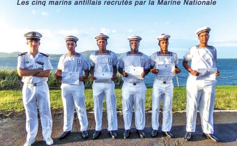 05-04-16-Les-cinq-marins-antillais-recrutés-par-la-Marine-Nationale