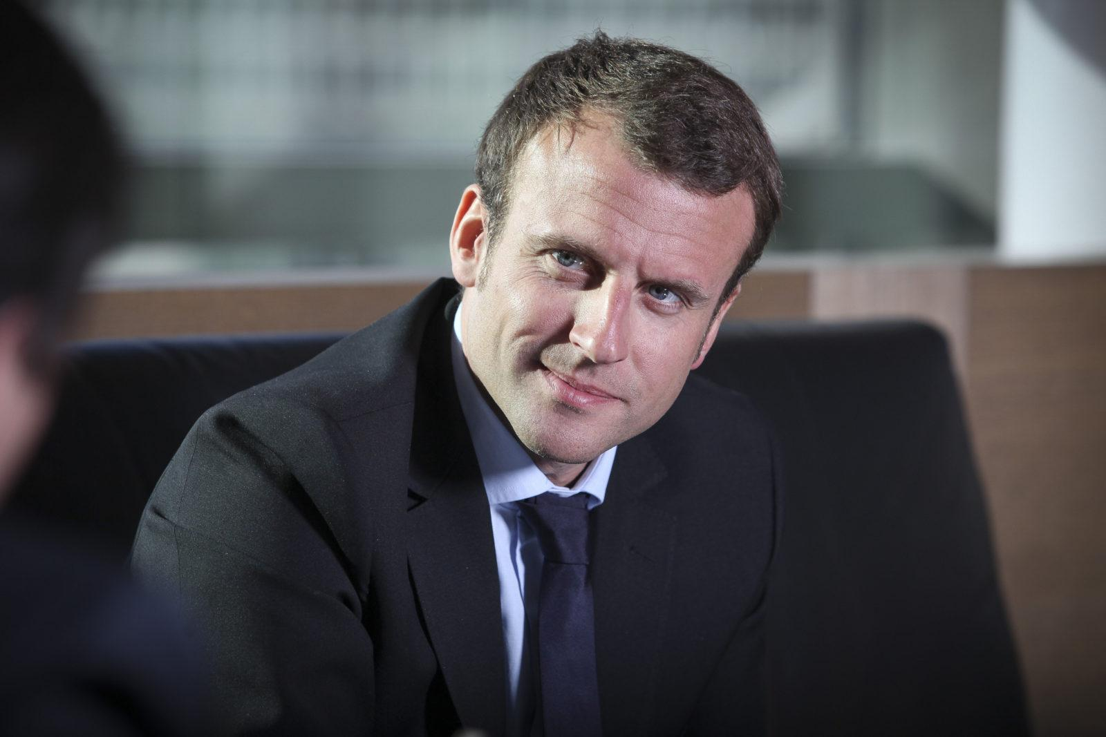 Emmanuel Macron Faxinfo