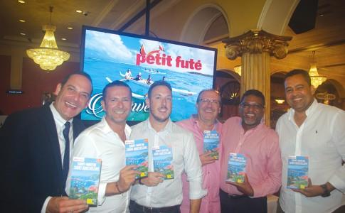 La présentation officielle du Petit Futé 2017 en présence des organisateurs et des personnalités locales.