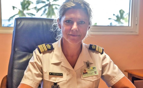 La commissaire en chef,  Maryline Hartenstein