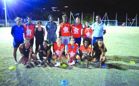11-04-17 Les joueuses d'United Stars à l'entraînement !