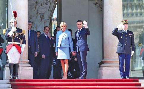 15-05-17-le-president-Emmanuel-Macron-et-sa-femme