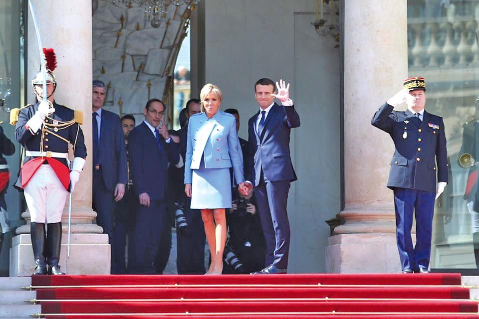 15 05 17 The President Emmanuel Macron And His Wife Faxinfo