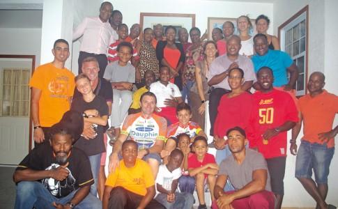 Toute la grande famille du VCG réunie autour de Mathéo et Arnaud Gosse !