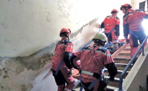28-09-17-Les-pompiers-toujours-présents-sur-le-terrain