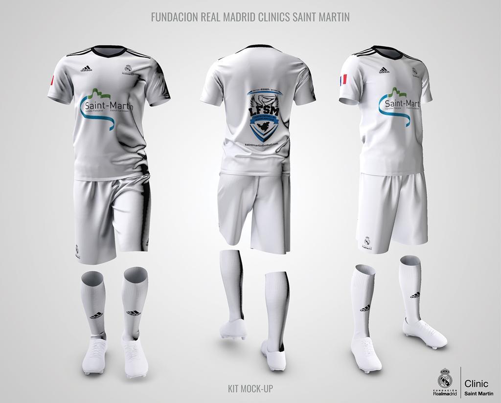 Calcio: La delegazione della Fondazione Real Madrid Football Club ...